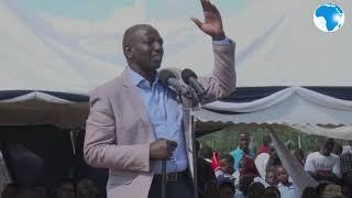DP Ruto defends extension of SGR to Naivasha