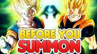 BEFORE YOU SUMMON: NEW LR VEGITO & LR GOGETA! Dragon Ball Z Dokkan Battle