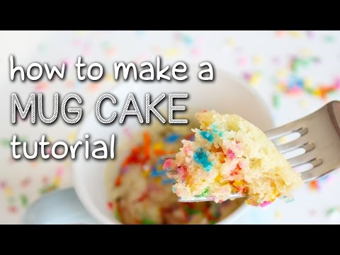 Video Easy Recipes - How To Make A Mug Cake Tutorial