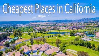 10 Cheapest Places to Live in California