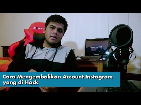 Video Cara Mengembalikan Account Instagram yang di Hack