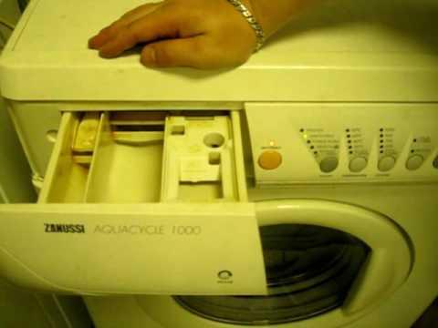 Стиральная машина Zanussi, Eiectrolux диагностический режим