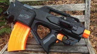 Nerf Mod: FN-F2000 Inspired Tactical Gun (Tac Ven ECS-10)