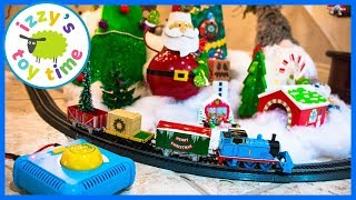 Happy Holidays! Thomas and Friends Bachmann Christmas Express! Fun Toy Trains
