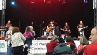 Damian Marshall - Summer of 69, Richmond Winterfest Weekend, Feb 12, 2011@Richmond Oval