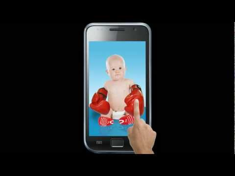 Video of Laughing Baby Cracked Screen