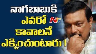Yandamuri Veerendranath Responds On Nagababu Comments  NTV