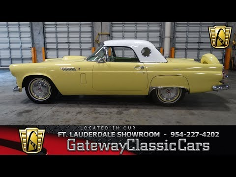 Video of '56 Thunderbird - L91T