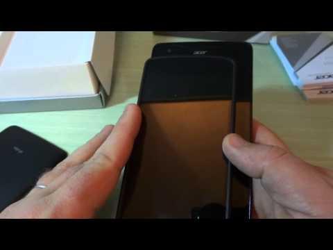 Video Unboxing Acer Liquid S1: Phablet Quad Core Dual Sim