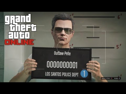 GTA 5 Online. Getting Started As Outlaw Pete. PS4 Grand Theft Auto 5