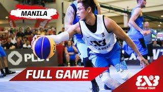 Manila West (PHI) vs Longshi (CHN) - Quarter Final - Full Game - Manila - 2015 FIBA 3x3 World Tour