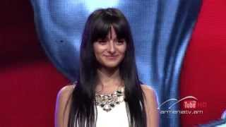 Yuliana Melqumyan,Твои следы by A Babajanyan - The Voice of Armenia – The Blind Auditions – Season