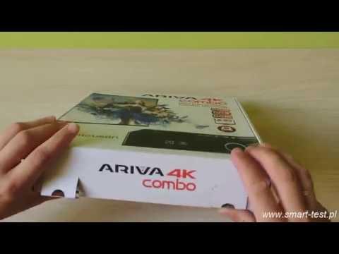 Ferguson Ariva 4K Combo - recenzja cz 1 - unboxing