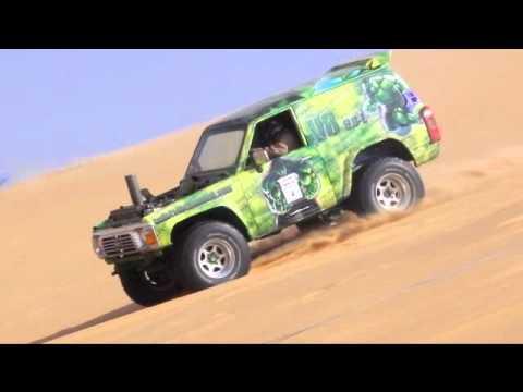 سباق السيارات في تطعيس رالي حائل 2011