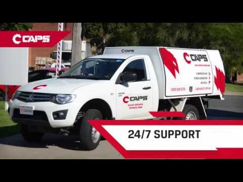 CAPS, your one stop shop for complete air and power solutions