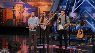 America's Got Talent 2018 We Three Will Bring A Tear To Your Eye Full Audition S13E01