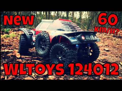 New WLtoys 124012, cheap RC truck. Faster than the 12428. Review, Unboxing and Test