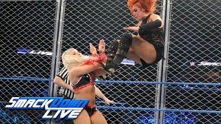 Becky Lynch vs. Alexa Bliss - SmackDown Women's Title Steel Cage Match: SmackDown LIVE, Jan 17, 2017