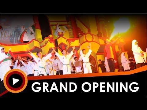 Grand Opening Panggung Gembira 619 Red Revolution Pondok Pesantren Modern Al Mu'awanah