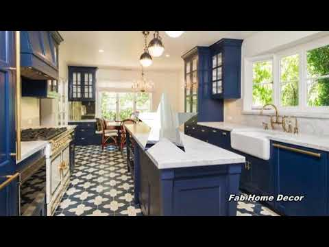 2018 Blue Kitchen Decoration Ideas