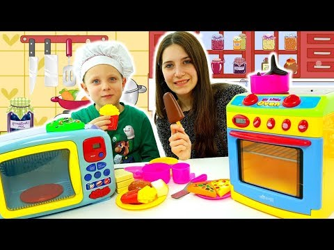 Simone Piccolo Chef: Giochi Di Cucina Per Bambini Con Forno Giocattolo