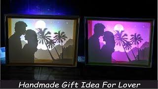 Best Handmade Gift For Lover - Valentine Day Gift Ideas | Paper Cut Light Box