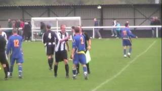 preview picture of video 'Ashington -v- Jarrow Roofing 8th October 2011'