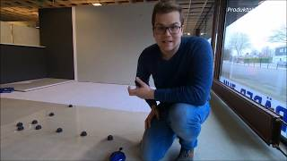 Bodenfliese XXL verlegen Refin Botticino 75x150 cm! | JobReport | TESCHNER