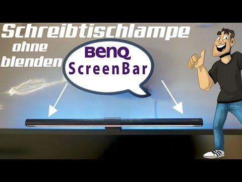 BenQ Screenbar - Die perfekte Schreibtischlampe 💡 Review in Deutsch