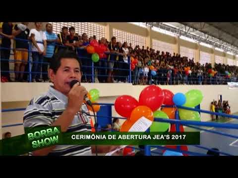 CERIMÔNIA DE ABERTURA DO JEA'S 2008 EM BORBA