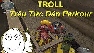 [ Bình Luận CF ] Troll Trêu Tức Dân Parkour Solo 1vs1 Và Cái Kết  | TQ97