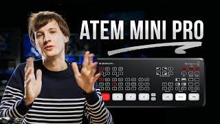 ATEM Mini Pro - In Depth Review & COMPLETE Tutorial !