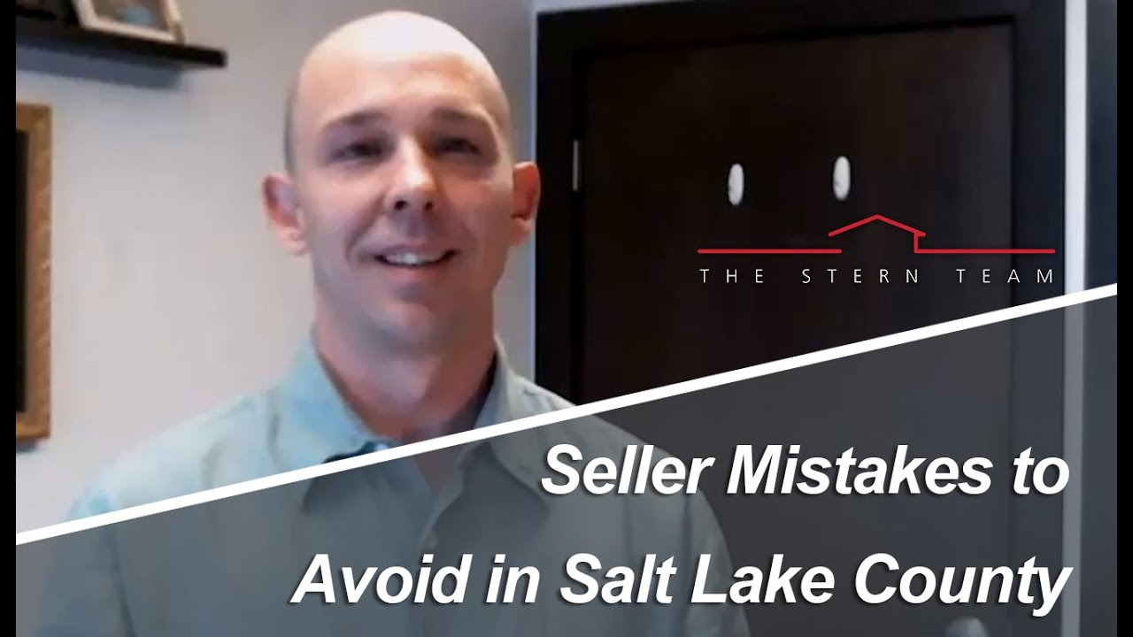 What Not To Do When Selling in Salt Lake County