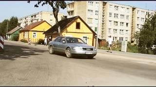 Часть 5 Литва Аникщяй 2010 По городу Аникщяй на велосипеде и выставка цветов