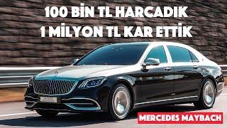Herkese merhaba, ben İlkay Zaman. Bu videoda 2015 model Mercedes-Benz Maybach araca 100 bin TL harcayarak nasıl 2020 görünüme kavuştuğunu ve bu sayede nasıl 1 milyon TL kar ettiğiniz izleyeceğiz.   Aktepe Sound tarafından yürütülen bu projede araca hem yazılım hem de donanımsal modifikasyonlar yapılarak görünümü de konforu da artırılmış. Detaylar videoda, keyifli seyirler :)  Linke Tıklayarak Özel İçeriklerden Faydalanabilirsiniz: https://www.youtube.com/channel/UCFXD8GPjvUe8TSkqPTH3NNg/join  ABONE OL VİDEOLARDAN HABERDAR OL :) https://goo.gl/nZKf6t  Sosyal Medyada Beni Takip Edin:  Instagram: https://www.instagram.com/ilkayzaman Facebook: https://www.facebook.com/ilkayzamanofficial Twitter: https://twitter.com/ilkayzaman YouTube: http://www.youtube.com/c/ilkayzaman YouNow: https://www.younow.com/ilkayzaman  Ekipmanlarım:  Ana Kamera: Sony Alpha 6300 Lens: Sony E PZ 18-105mm f/4 G OSS Lens: Sony E PZ 16-50mm f/3.5-5.6 OSS Lens: Sigma 16mm f/1.4 DC DN Mini Gimbal Kamera: DJI OSMO Pocket Aksiyon Kamera: GoPro Hero 7 Black Aksiyon Kamera: GoPro Hero 5 Black Aksiyon Kamerası: Xiaomi Yi 2 4K Telsiz Mikrofon: Saramonic UWMIC9 RX9 + TX9 + TX9  Kamera Üstü Mikrofon: Rode VideoMicPro Kamera Üstü ve Kayıt Mikrofonu: Zoon H1N PodCast Mikrofon: Blue Yeticaster Black Edition Yedek Yaka Mikrofonu: Rode SmartLav+  Drone: DJI Mavic Pro Gimbal: Zhiyun Crane Plus Kamera Ek Monitörü: Bestview S7 4K Sony A6300 Batarya Eklentisi: Meike MK-A6300