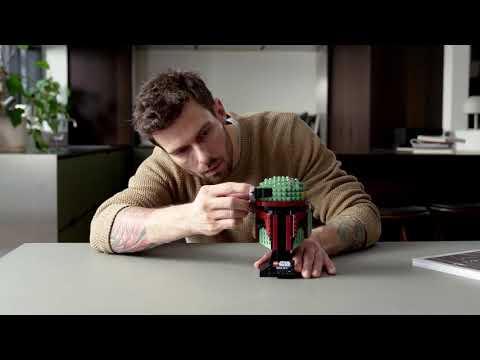 Vidéo LEGO Star Wars 75277 : Le casque de Boba Fett