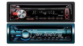 Sony MEX-BT3100U & KENWOOD KDC-BT34U Потребительский обзор