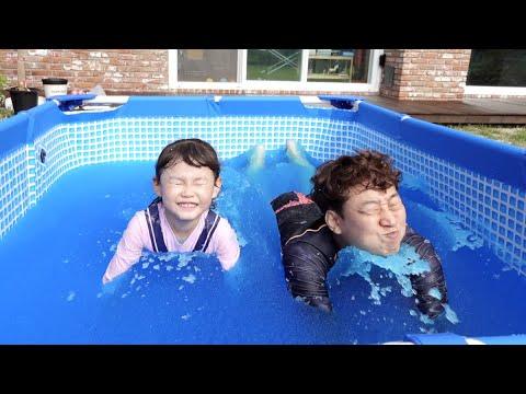 [30분] 라임의 젤리베프 수영장과 파자마삼총사 키즈카페 놀이 indoor playground fun for kids| LimeTube
