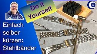 Stahlbänder kürzen problemlos möglich   Uhren