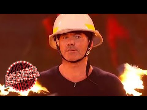 Most Dangerous Acts On Got Talent - Playing With Fire (видео)