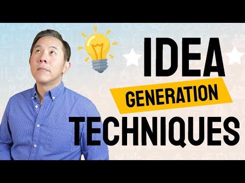 , title : 'Idea Generation For Entrepreneurs - How To Generate Business Ideas - Techniques For Idea Generation