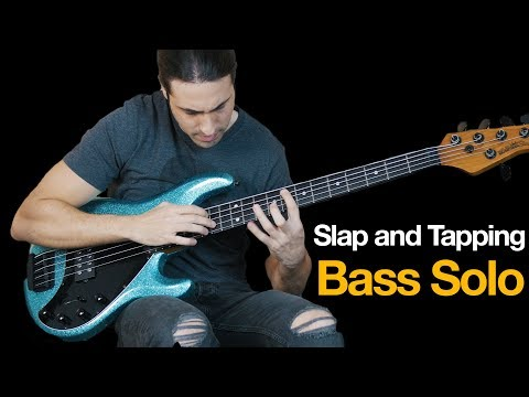 Slap and Tapping Bass Solo