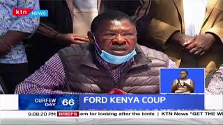 FORD KENYA COUP: Eseli Simiyu leads section of members to oust party leader Moses Wetangula