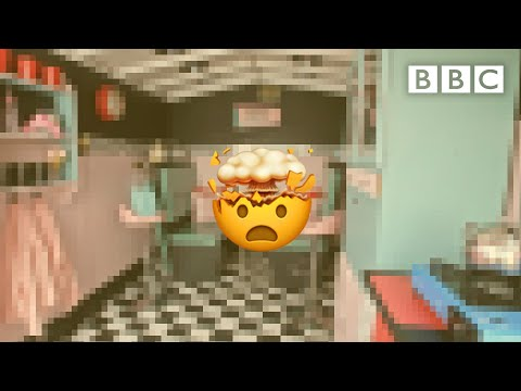 This 1950s retro redesign blew our minds! - BBC