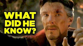 Avengers Endgame Doctor Strange Plan Breakdown! Ancient One Scene Explained!