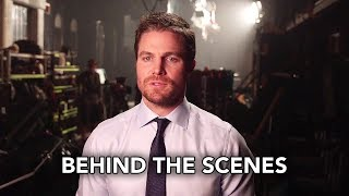 DCTV Crisis on Earth-X Crossover Behind the Scenes