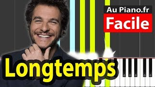 Amir Longtemps   Piano FACILE Tutorial Paroles Karaoké Cover
