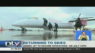 Jambojet has announced that it will resume flights to five local