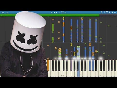 Piano Cover Remix - Marshmello - Summer