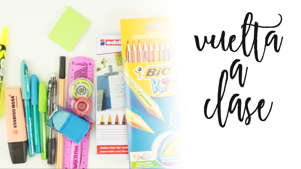 MIS IMPRESCINDIBLE PARA LA VUELTA A CLASE | KIT VUELTA A CLASE | BACK TO SCHOOL